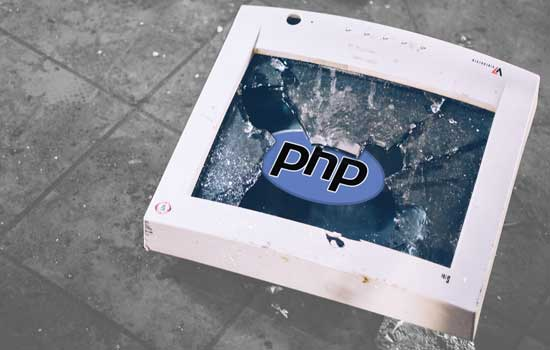 Website crash na PHP upgrade